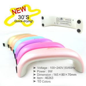 40263h, Mini 9W LED Lamp with 10 Colors
