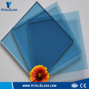 Dark/Ford Blue Glass/Tined Float Glass/Reflective Glass with Ce pictures & photos