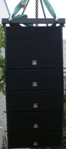 Active Dual 6inch Line Array Speaker (VX206A) pictures & photos