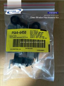 Hw5875 -Disc Brake Hardware Kit-Powersteel; for Buick Lacrosse 2008-2009buick Lucerne 2006-2011cadillac Dts 2006-2011chevrolet Impala 2006-2012 pictures & photos