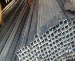Q235 Galvanized Square Tube/Pipe 40X40mm for Construction pictures & photos