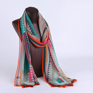 2016 Top Sale Fashion Printed Silk Scarf Ss1027