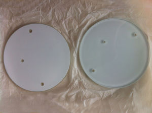 Optical Fused Silica Jgs1 Jgs2 Jgs3 Wafer with Al Coating pictures & photos