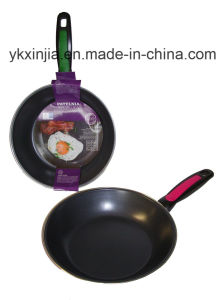 Kitchenware 20cm Color Sleeve Packing Frying Pan pictures & photos