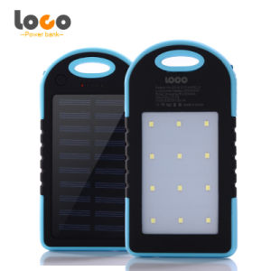 Outdoor Waterproof Solar Mobile Power Bank Charger 5000mAh pictures & photos