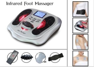 2015 New Electronic Infrared Impulse Foot Body Massager for Pain Relief