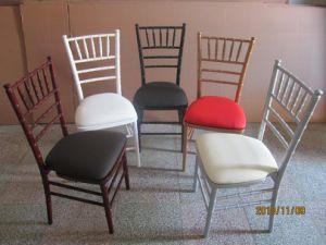 Wood Chiavari Chair with Hard Cushion