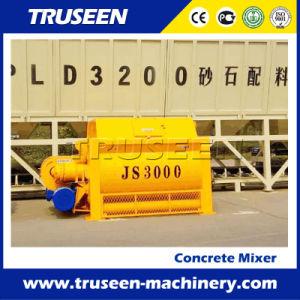 Double Shaft Paddle Type Js3000 Concrete Mixer Construction Machine for Sale pictures & photos