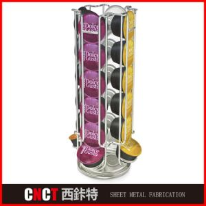 Customized Bending Cosmetic Display Stand pictures & photos