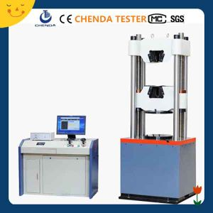 Waw-1000d Computer Servo Control Hydraulic Testing Machine for Steel Bar pictures & photos