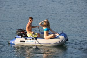 Dinghy Inflatable Boat with Hidea Motor (FWS-D290) pictures & photos