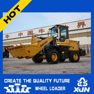 China Manufacture New Design Compact Mini Wheel Loader (1.6ton 0.7cbm ZL20) pictures & photos