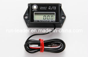 Gasoline Engine Digital Rpm Resettable Hour Meter for Generator