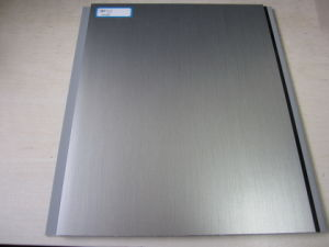 Hot Transfer PVC Panel - Silver Grey pictures & photos
