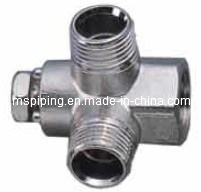 Screw Fittings in Brass for Multilayer Pipes Wall Plated Tee pictures & photos