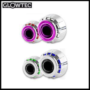 2.5 Inch Mini Double Angel Eyes Super Bright CCFL HID Bi Xenon Projector Lens