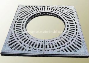 Custom Size Cast Iron Grill Sewer Grates for Carriageway or Pathway En124 pictures & photos