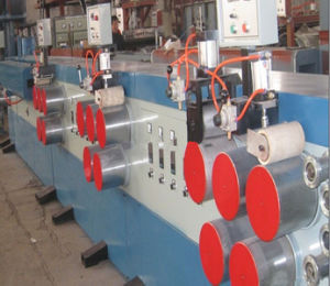 High Efficiency PET Packing Belt Extruding Line/Plastic Strap Machine pictures & photos