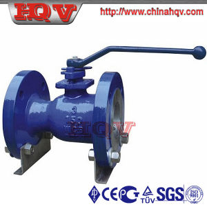 One Piece Cast Steel Floating Ball Valve