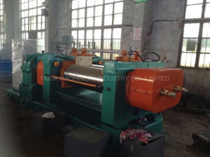 Best Safety High Quality Two Roll Rubber Open Mixing Mill Xk-160, 250, 300, 360, 400, 450, 550, 560, 610 pictures & photos