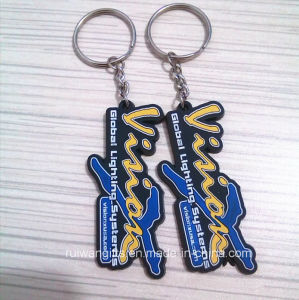 Custom Promotional PVC Keychain with Logo pictures & photos
