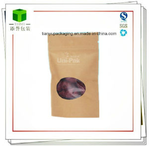 Food Grade Paper Snack Food Packaging Bags for Nuts pictures & photos