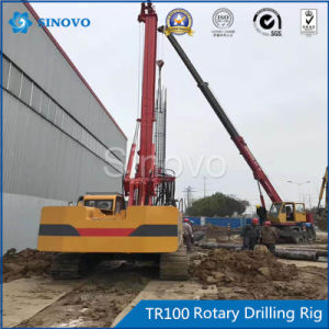 TR100 Rotary Drilling Rig for swampy site with light weight pictures & photos