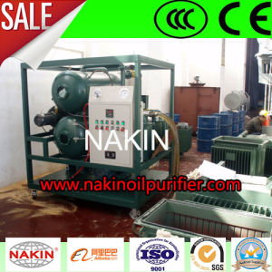 Power Saving Double Stages Vacuum Transformer Oil Purifier Machine pictures & photos