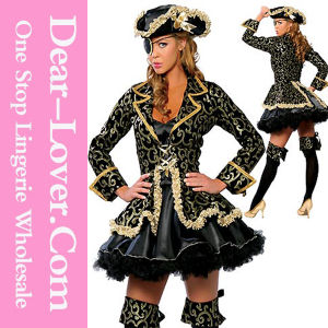 Sexy Deluxe Halloween Pirate Costume pictures & photos