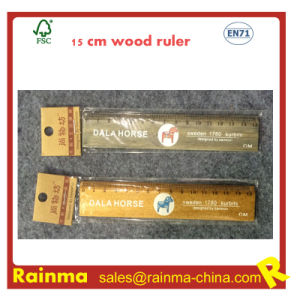 15cm Wooden Ruler for School Stationery pictures & photos