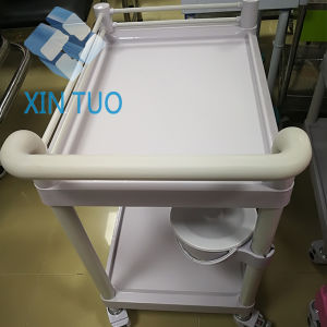 Factory Direct Price Cheap Hospital ABS Emergency Treatment Cart Medical Therapy pictures & photos