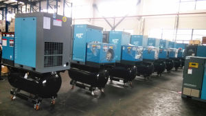 Tank Mounted Screw Compressor with Air Dryer