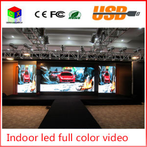 P4 Indoor RGB Full Color LED Video Wall Size 512X512mm LED Large-Screen Display Sign Background Synchronization System pictures & photos