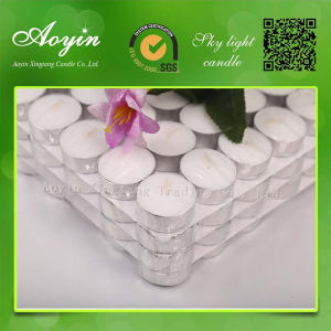 Flameless Tea Lights White Tealight Candles pictures & photos