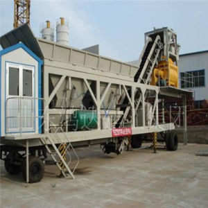 Mobile Concrete Batching Plant (Yhzs75) pictures & photos