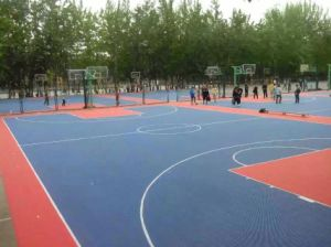 Polypropylene Interlock Floor for Indoor and Outdoor Sports Courts pictures & photos