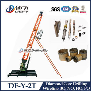 Geological Survey Soil Test Drilling Rig for Core pictures & photos