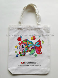 Promotional Custom Printed Recycled Canvas Tote Bag pictures & photos