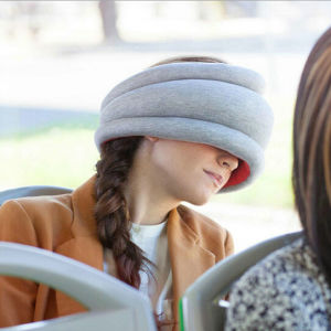 Light Portable Neckerchief Traveling Nap Ostrich Pillow pictures & photos