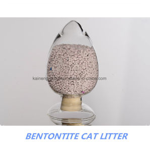Pillar Type Bentonite Cat Litter pictures & photos