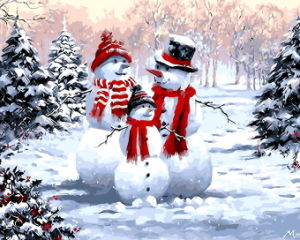2017 Hot Sale Christmas Decoration Painting, Christmas Gift by Numbers pictures & photos
