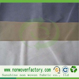 Fire Resistance Nonwoven Fabric -- 100%PP pictures & photos