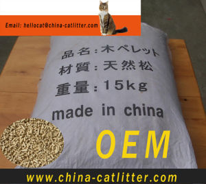 Cat Litter Advanced Natural Pine Wood with Forest Scent