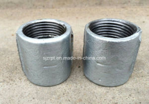 Plain Galvanized Coupling Malleable Iron Pipe Fittings pictures & photos