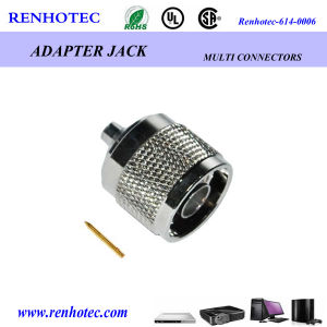 Coaxial TNC Connector Male Crimp pictures & photos