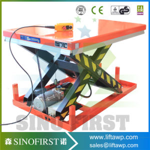 3ton 3000kg Fixed Electric Hydraulic Scissor Lift Table pictures & photos