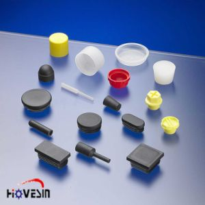 Plastic Injection Mold for Light Parts ABS Moulding UV Against/Rubber Parts/Rubber Inserts (HVS-C14018)