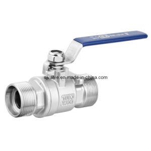 2 Pieces Male Male Threaded Ball Valve pictures & photos