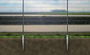 HDG Ground Screw for Fencing and Gate pictures & photos