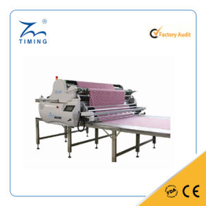 Automatic Spreading Machine with Cutting Unit for Fabric Rolls pictures & photos
